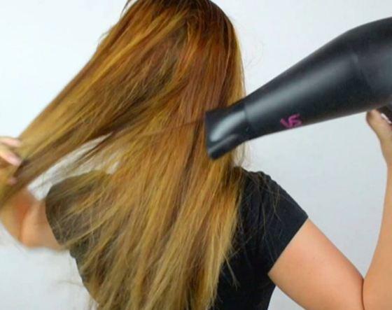 راهنمایی درباره نحوه سشوار کشیدن موها