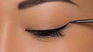 آموزش کشیدن خط چشم برای انواع مدل چشم!