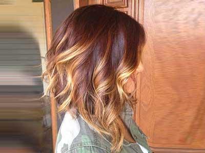 نکاتی در رابطه با رنگ موی بلوند کاراملی!