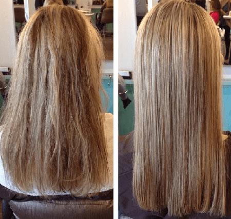 روش های کراتینه کردن مو