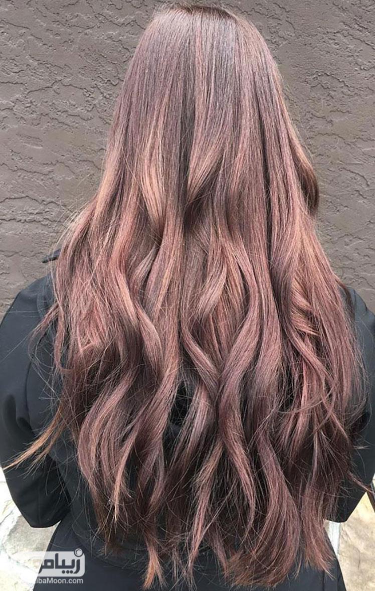 انواع رنگ موی ماهاگونی