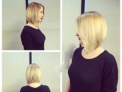 مدل مو برای صورتهای گرد