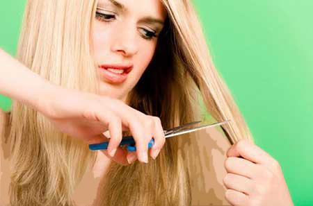 کوتاه کردن مو در منزل
