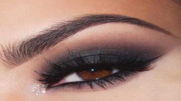 آرایش دودی چشم ها برای رنگ چشم قهوه ای!