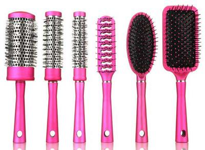 نحوه انتخاب برس موی مناسب برای انواع مو!