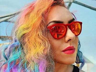 آموزش رنگ موی پاستلی