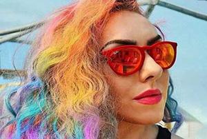 ایده هایی جالب برای استفاده از رنگ موی پاستلی!(۲)