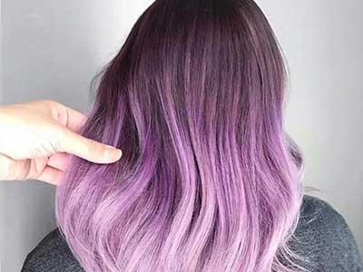 رنگ موی پاستلی