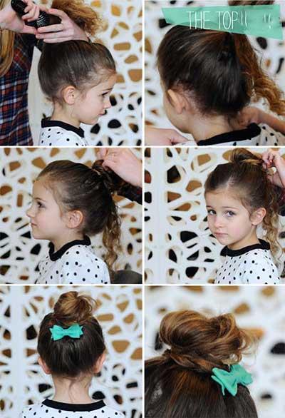 مدل موهای زیبای دخترانه