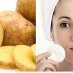 جوانسازی پوست و زیبایی با سیب زمینی