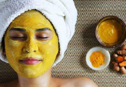 زردچوبه برای زیبایی پوست