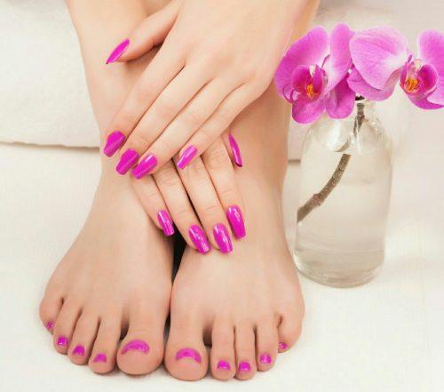 زیبایی دست و پا
