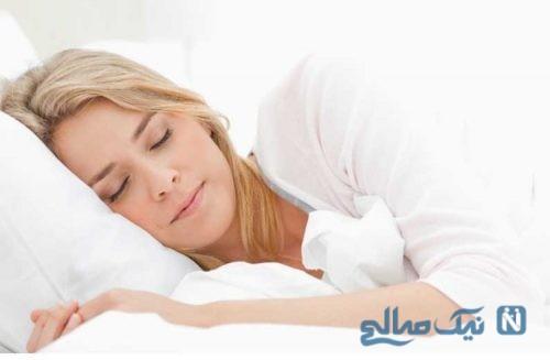 پوست هنگام خواب