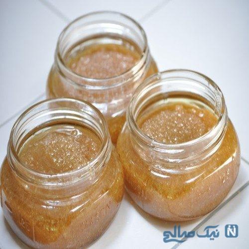 لایه برداری فوری پوست با مواد ارگانیک و موثر