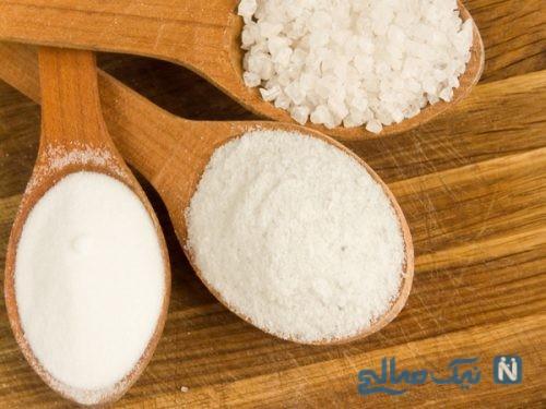 نمک برای زیبایی