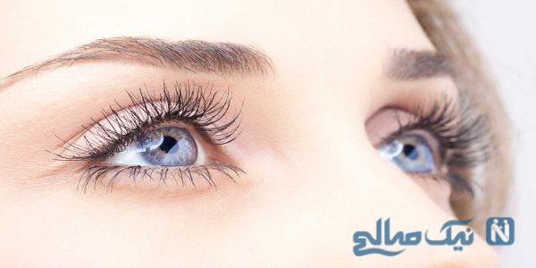 عوارض لنزهای زیبایی
