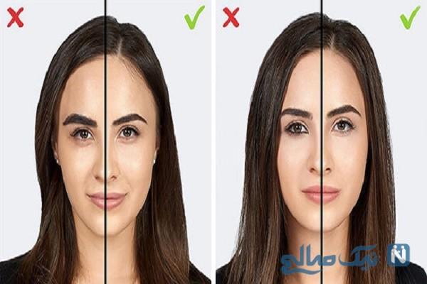 اشتباهات آرایشی خانم ها که سن آن ها را زیاد نشان می دهد