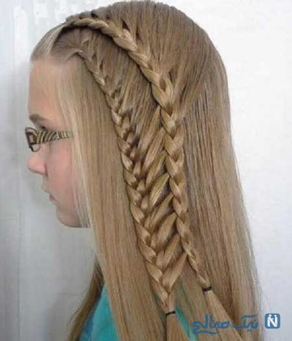 مدل مو برای دختربچه