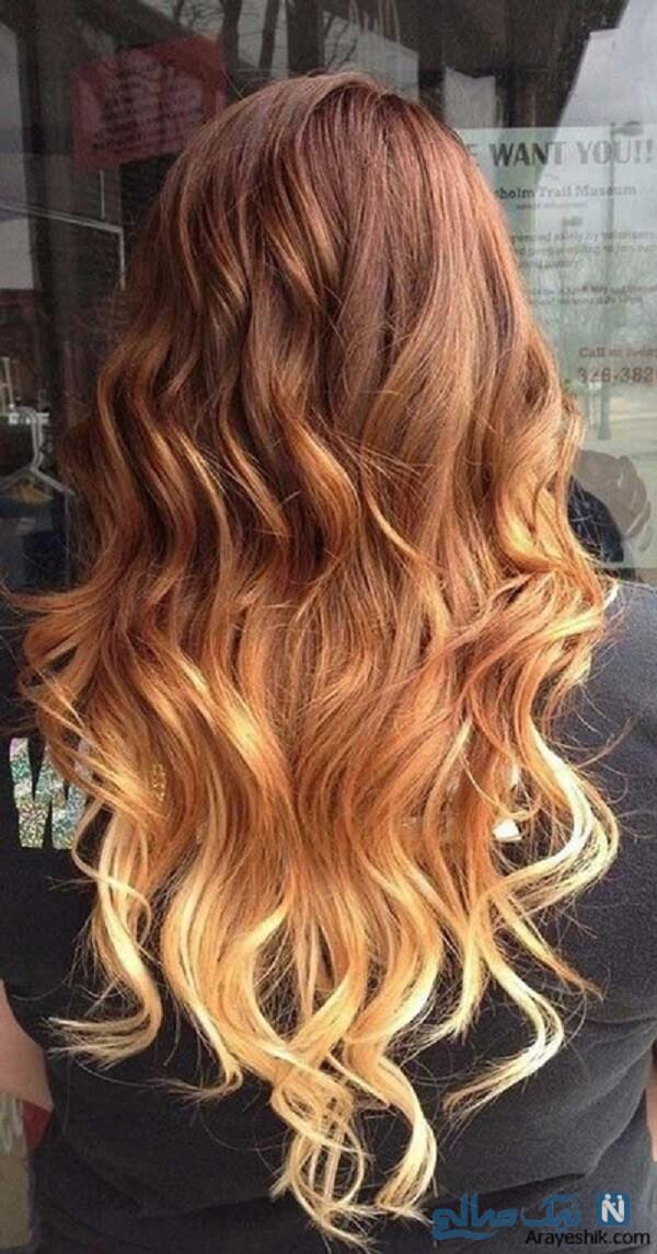 ایده برای رنگ مو