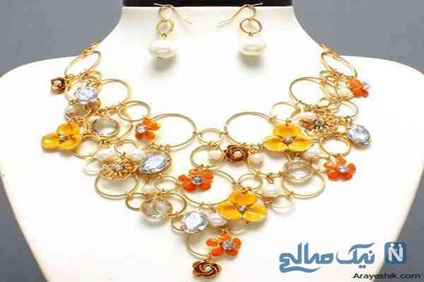 جالب ترین ست های جواهر از انواع سنگ های تزئینی